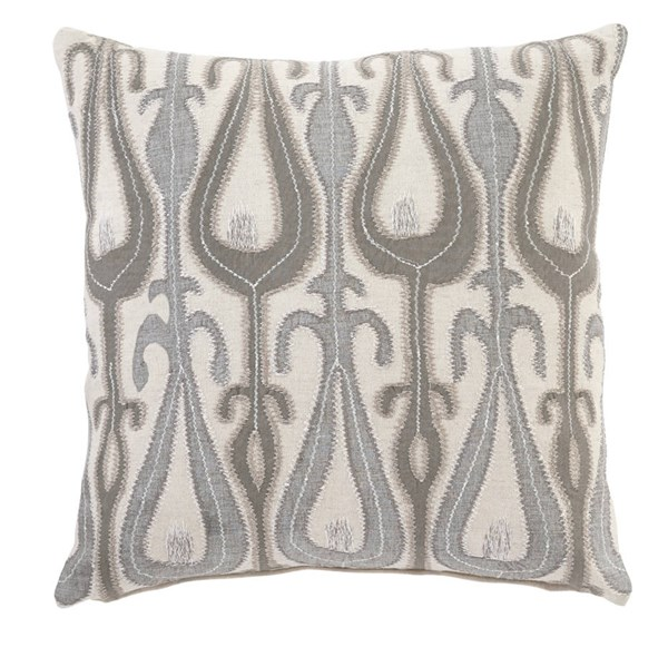 4 Arrowsic Transitional Natural Fabric Pillow Covers A1000661