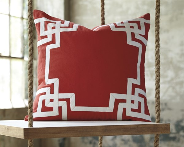 Vassal Transitional Coral Fabric Pillow Cover A1000670P