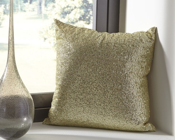 Renegade Youth Gold Polyester Fiber Filler Pillow A1000701P