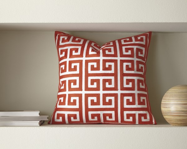 4 Stockwell Contemporary Coral Pillow Covers A1000711