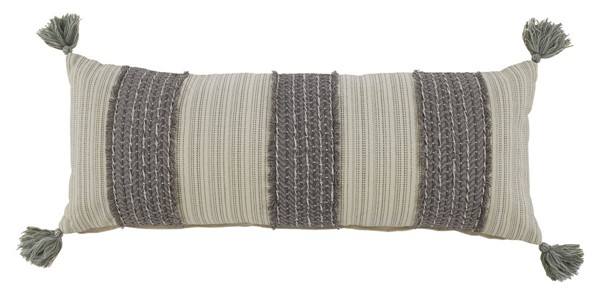 Ashley Furniture Linwood Gray Cream Pillow A1000816P