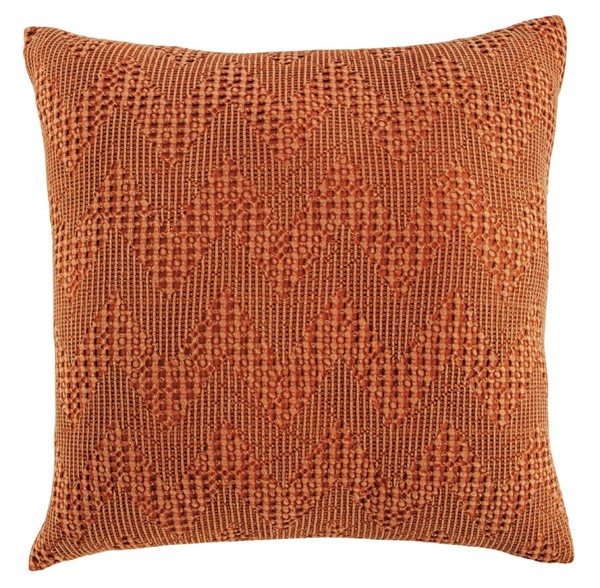 4 Ashley Furniture Dunford Rust Pillows A1000875