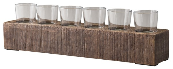 Ashley Furniture Cassandra Brown Candle Holder A2000315