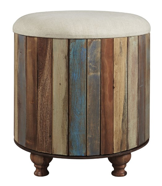 Ashley Furniture Oristano Wood Storage Ottoman A3000014