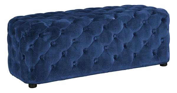 Ashley Furniture Lister Navy Accent Ottoman A3000169