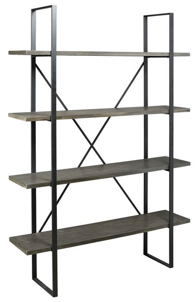 Ashley Furniture Gilesgrove Black Gray Bookcase A4000017