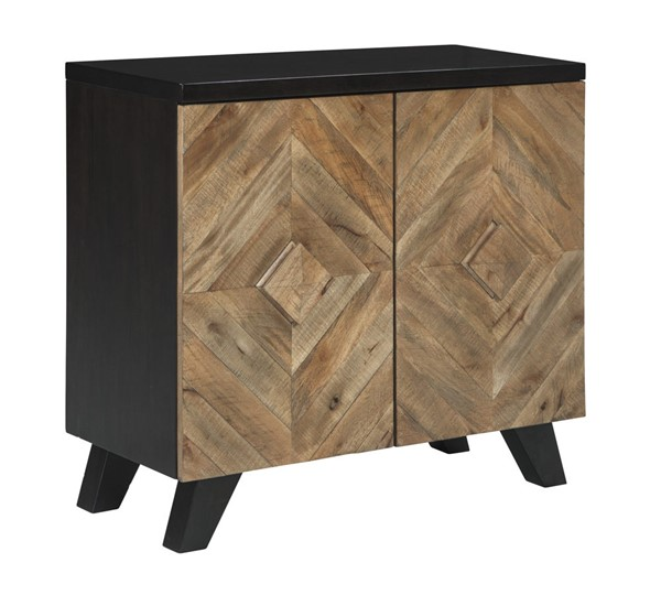 Ashley Furniture Robin Ridge Two Tone Brown Door Accent Cabinet A4000030