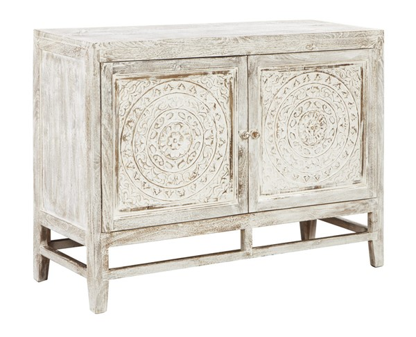 Ashley Furniture Fossil Ridge Two Door Accent Cabinet