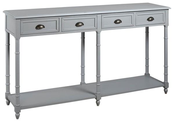 Ashley Furniture Eirdale Gray Console Sofa Table A4000188