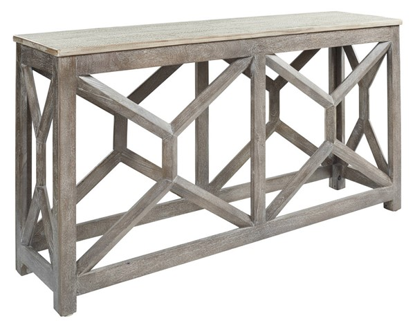 Ashley Furniture Lanzburg Antique Gray Console Sofa Table A4000263