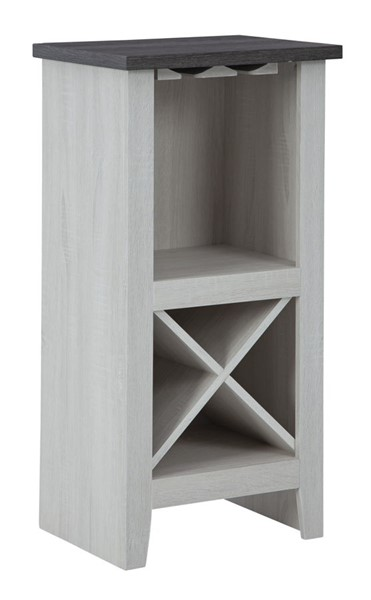 Ashley Furniture Turnley Casual Antique White Wine Cabinet A4000329