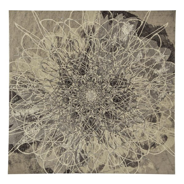 Bellisa Contemporary Square Floral Wall Art A8000125