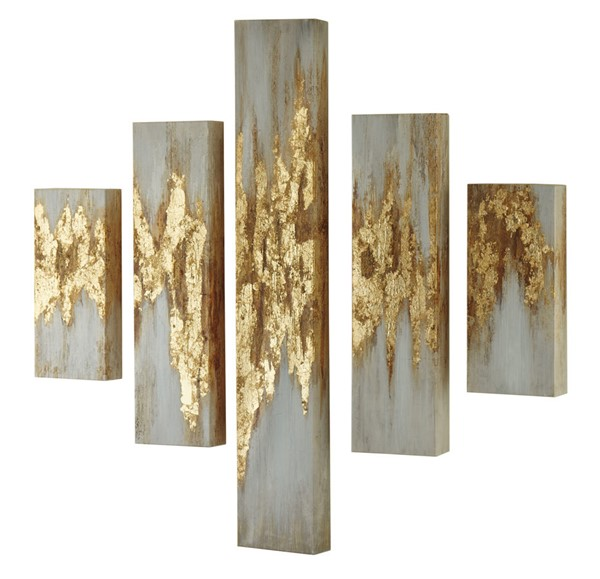 Ashley Furniture Devlan 5pc Wall Art Set A8000149