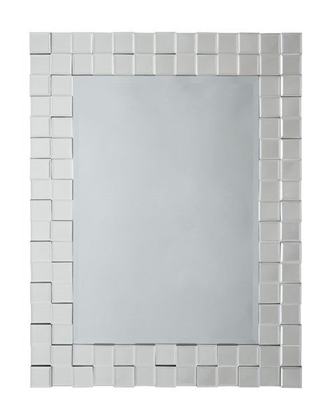 Odelina Contemporary Glass Accent Mirror A8010008