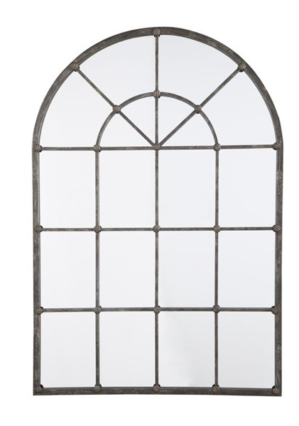 Oengus Traditional Bronze Metal Glass Accent Mirror A8010025