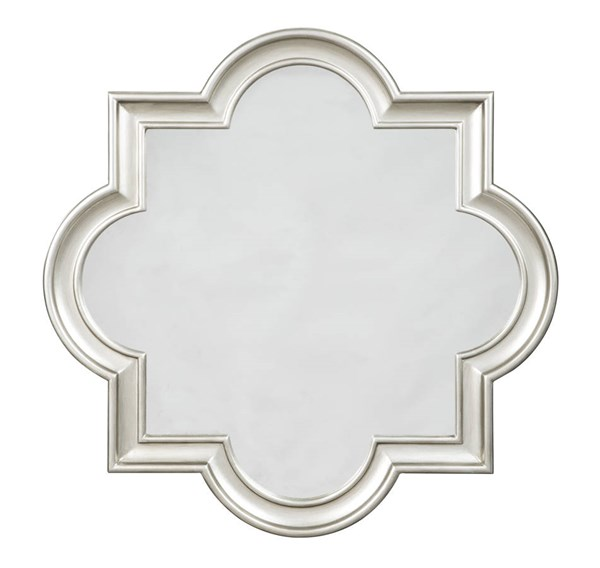 Desma Traditional Gold Glass Accent Mirror A8010044