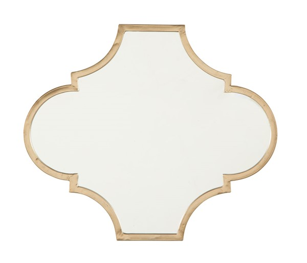 Ashley Furniture Callie Gold Accent Mirror A8010155