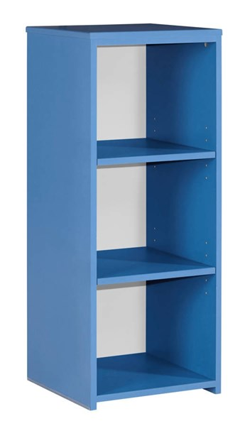Bronilly Metro Modern Blue Wood Bookcase B045-30