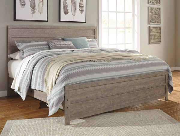 Ashley Furniture Culverbach Queen Panel Bed B070-QPNLBED