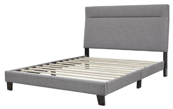 Ashley Furniture Adelloni Gray Queen Upholstered Bed B080-381