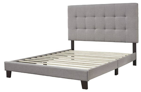 Ashley Furniture Adelloni Gray Upholstered Queen Beds B080-581-BED-VAR