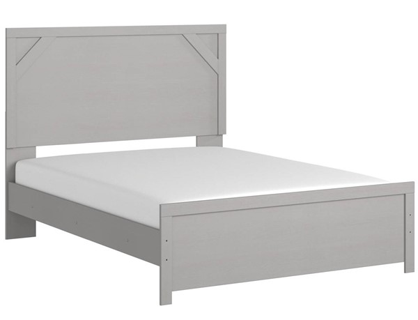 Ashley Furniture Cottonburg Light Gray Queen Panel Bed B1192-QBED