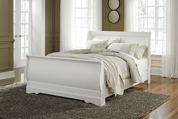 Ashley Furniture Anarasia Queen Sleigh Bed The Classy Home
