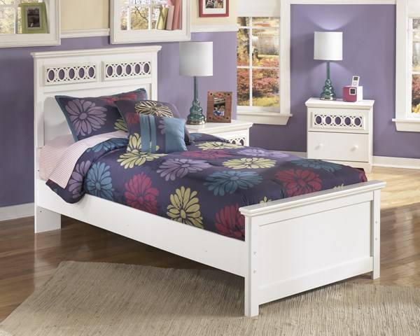 Ashley Furniture Zayley White Twin Bed B131-TBED