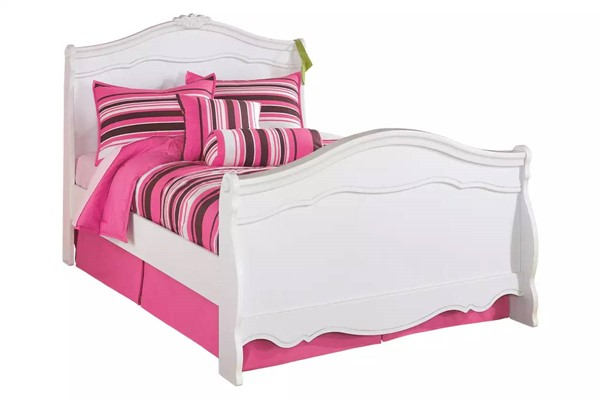 Ashley Furniture Exquisite Luminous White Bed B188-BedFS