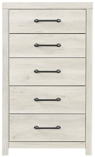 Ashley Furniture Cambeck Whitewash Five Drawers Chest B192-46