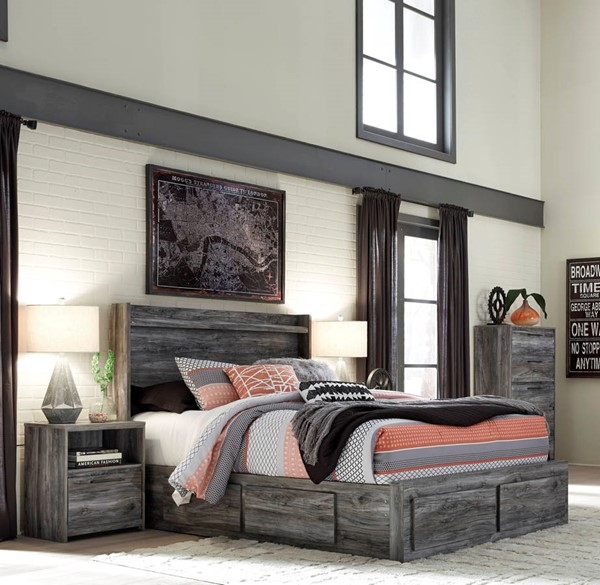 Ashley Furniture Baystorm 2pc Bedroom Set With King Under Storage Bed