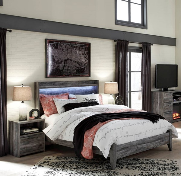 Ashley Furniture Baystorm 2pc Bedroom Set With Queen Panel Bed