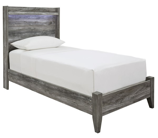 Ashley Furniture Baystorm Gray Twin Panel Bed B221-TP-BED