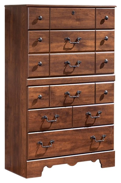 Ashley Furniture Timberline Warm Brown Chest B258-46