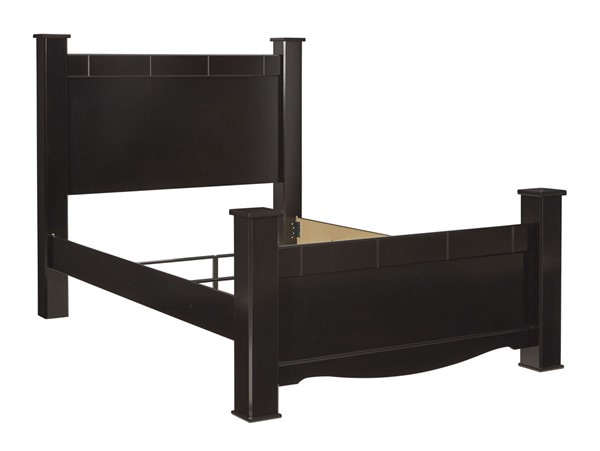 Ashley Furniture Mirlotown Almost Black Poster Beds B2711-POS-BED-V