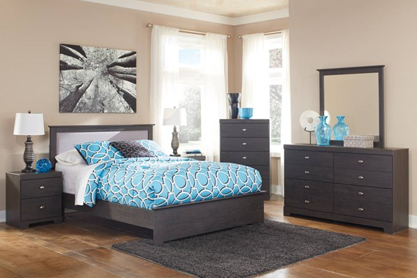 Shylyn Contemporary Charcoal Master Bedroom Set B272-BR