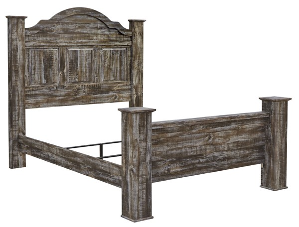 Ashley Furniture Lynnton Rustic Brown Poster Beds B297-POBEDS