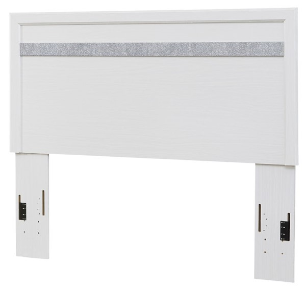 Ashley Furniture Jallory White Panel Headboards With Bed Frame B302-PHDBD