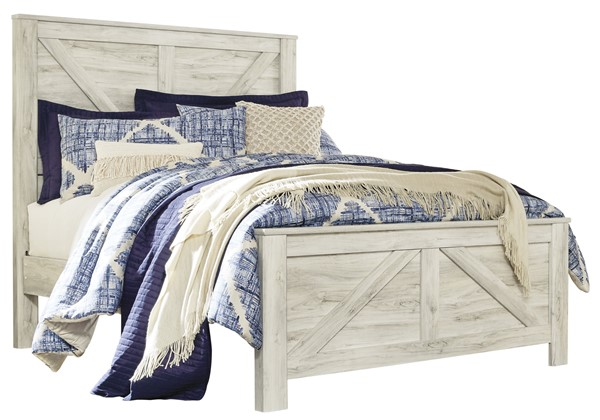 Ashley Furniture Bellaby White Beds B331-157-8-BED-VAR