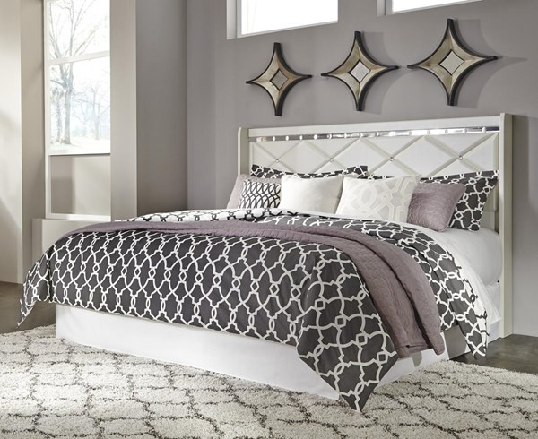 Dreamur Contemporary Champagne King/Cal King Panel Headboard B351-58