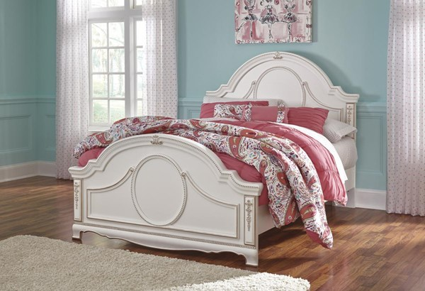 Korabella Traditional Classics White Full Panel Footboard B355-84