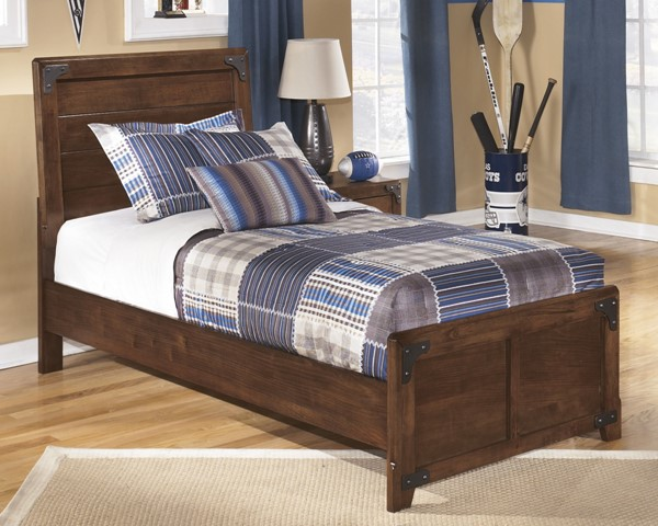 Ashley Furniture Delburne Twin Panel Bed The Classy Home