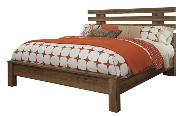 Cinrey Modern Medium Brown King Panel Bed B369-KPNLBED