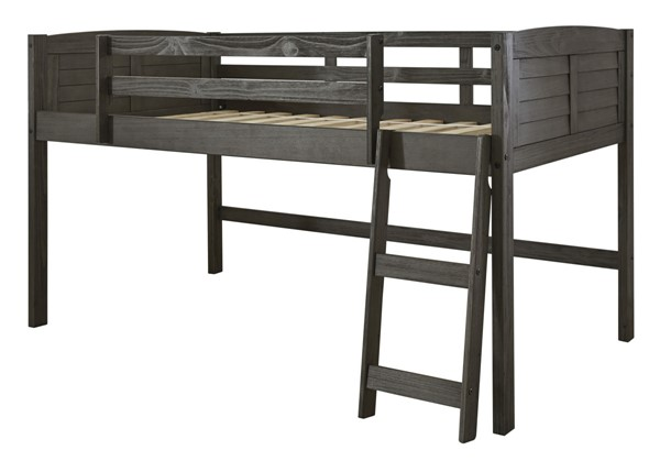 Ashley Furniture Caitbrook Gray Twin Loft Bed Frame B388-62