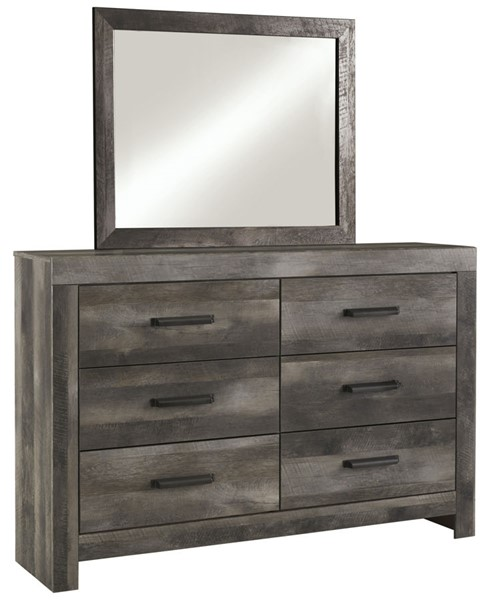 Ashley Furniture Wynnlow Gray Dresser And Mirror B440-DRMR