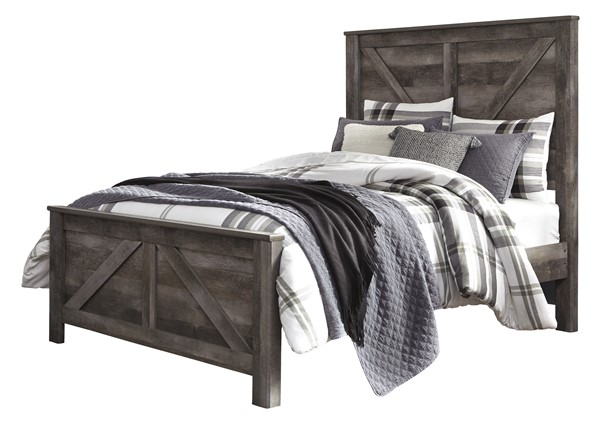 Ashley Furniture Wynnlow Gray Queen Panel Bed B440-QPNLBED