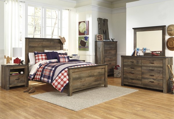 Ashley Furniture Trinell Brown Master Bedroom Set The Classy Home