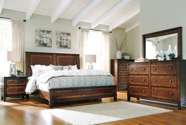 Dawlyn Traditional Classics Burnished Brown Master Bedroom Set B645-BR