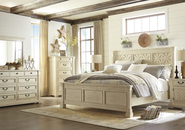 Bolanburg Casual White Solid Wood Master Bedroom Set B647-BR
