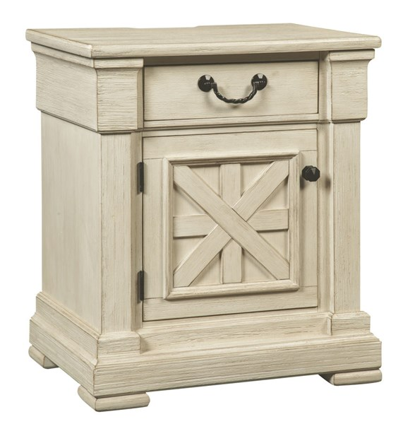 Bolanburg Casual White Solid Wood Night Table B647-91